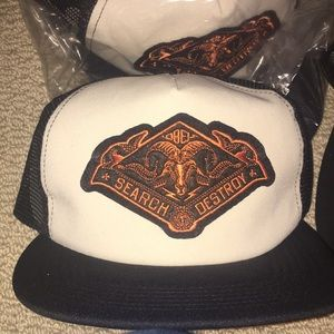 Obey search and destroy trucker SnapBack
